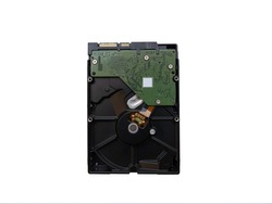 Broken Harddisk is currently looking for a way to fix or recover data which is placed on white paper.