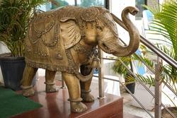 Bronze Elephant statue vadodara gujarat