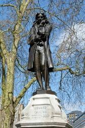 1895 Bronze Statue of Edward Colston, Colston Avenue, Bristol, UK