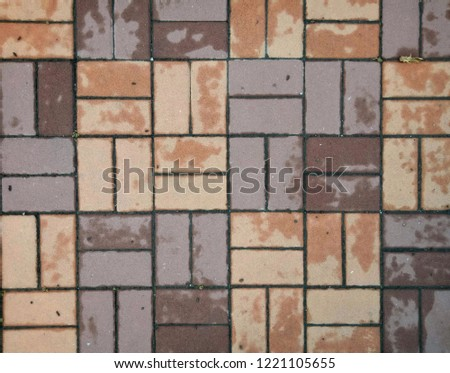 Brown brick background #1221105655