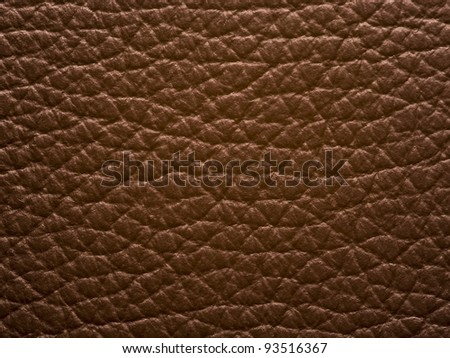 brown leather background.