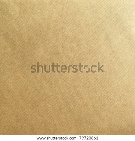 Brown paper as a grunge background