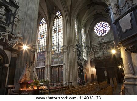 Gothic Church Notre Dame Gothic Church Notre Dame