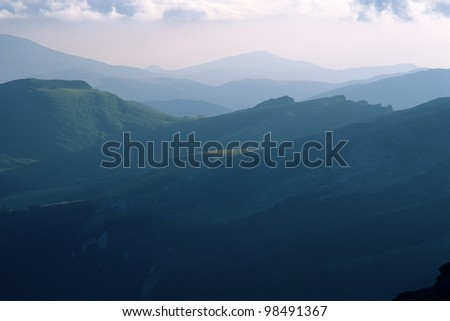 Bucegi Mountains, Southern Carpathians, Romania