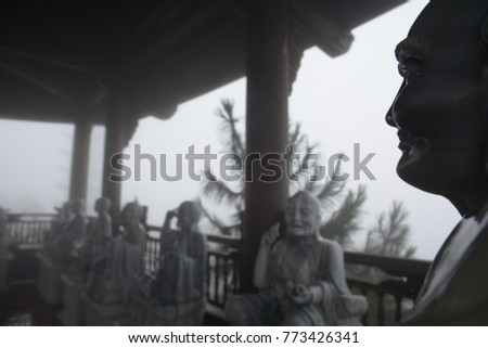 Buddha in the Banahill Da Nang #773426341