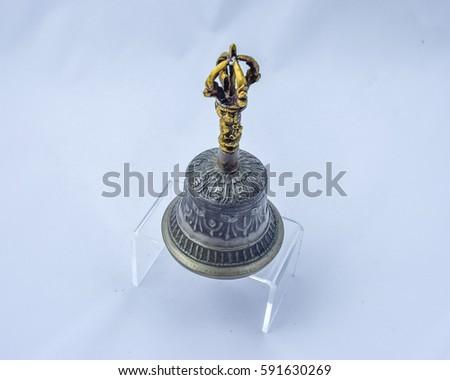 Buddhist Sacred Spiritual Tibetan Bell #591630269