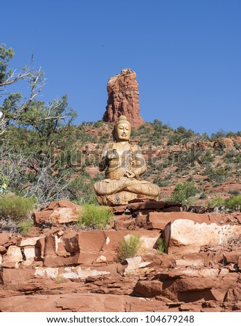 Buddhist Stupa in Sedona, Arizona