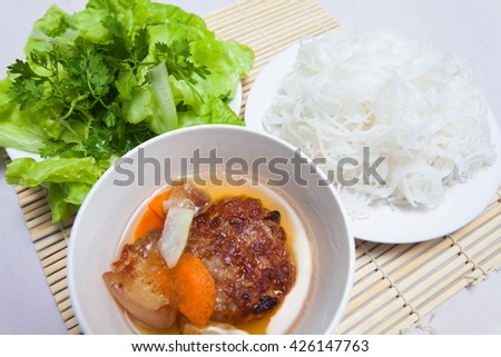 how to make vermicelli noodles for spring rolls