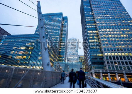 Business office building in London, England, UK #334393607