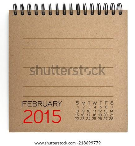 2015 calendar brown texture...