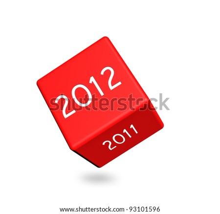 2012 calendar dice