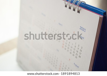 2021 calendar page background business planning appointment meeting concept