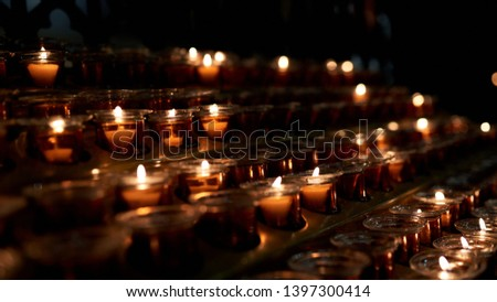 candles in church candles in church candles in church  #1397300414