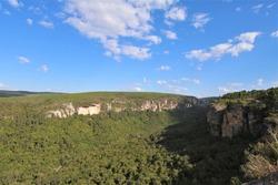 Canyon Jaguaricatu in Senges, Brazil