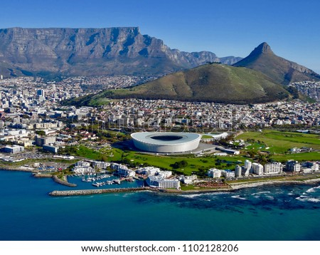 Cape Town, view from above.