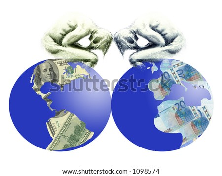 Care of business people on planet aerth of dollars