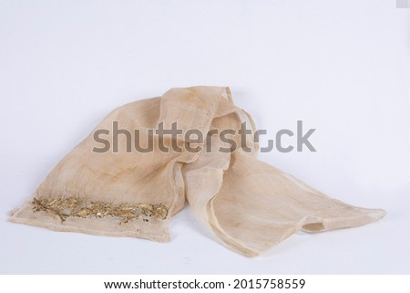 18 century Ottoman period veils scarf accessory Macro Detail shot wonderful background images buying. Foto d'archivio ©