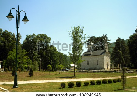 Cetinje  a town and Old Royal Capital of Montenegro.