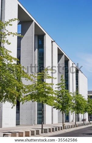 Chancellor's Office Building in Berlin, Germany