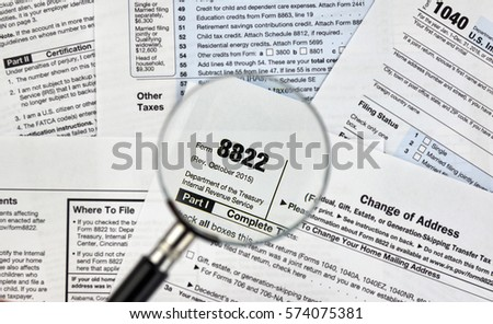 8822 Change Of Address Federal Tax Form Ez Canvas