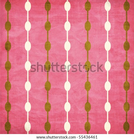 Cherry Blossom Collection Beaded Pattern Texture Background