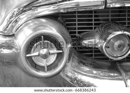 1957 Chevy tail light\n