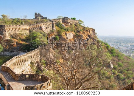 Chittorgarh Fort, the largest fort in India. Rajasthan, India. #1100689250