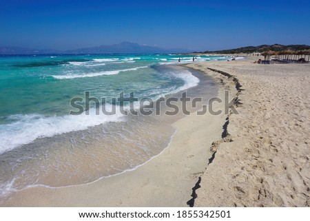 Chrissi Island is located 8 miles off the coast of Ierapetra and is famous for its pink sand beaches