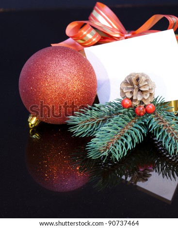 2012 Christmas gift with a tag for your personal message.