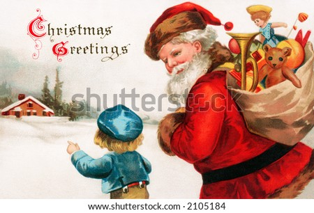 nostalgic christmas greetings