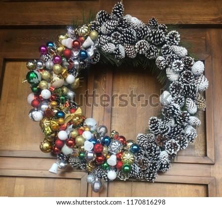 christmas ornaments, door ornaments #1170816298