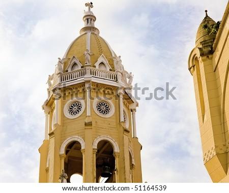 """Church bellfry"""