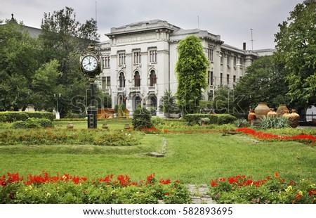 Cismigiu gardens in Bucharest. Romania