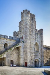 Cite de Carcassonne is a medieval citadel located in the French city of Carcassonne. Tower