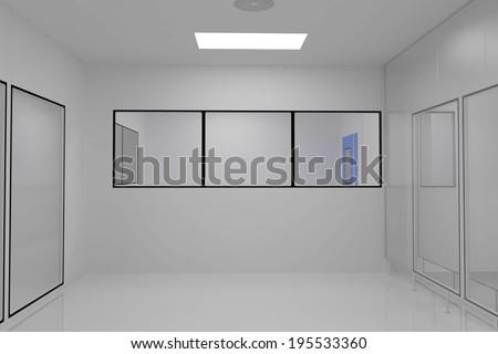 Clean Room in pharmaceutical factory