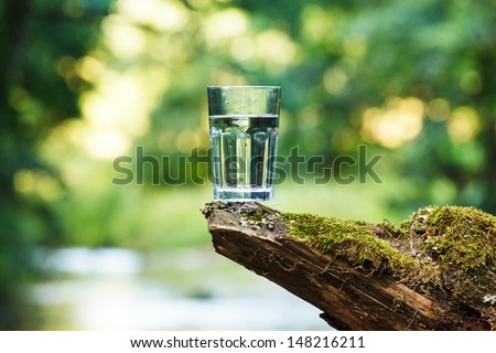 Clean water (healthy concept)