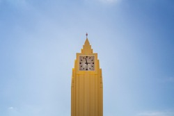 clock tower in the center of goiania