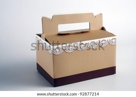 close uopresent box with handle