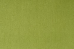 Close-up olive fabric texture background