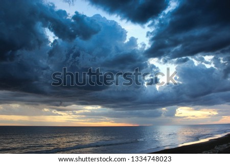 clouds and storm #1334748023