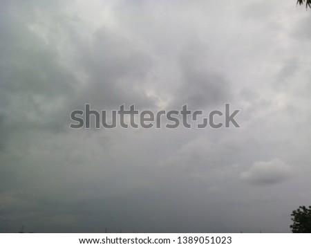 cloudy sky cloudy rather dark #1389051023