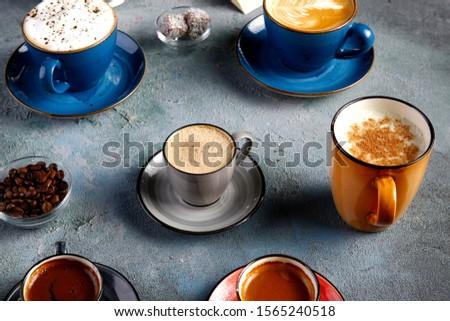 coffee latte coffee latte presentation #1565240518