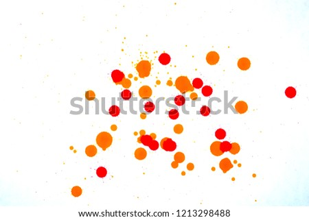 colored blots on white                              #1213298488