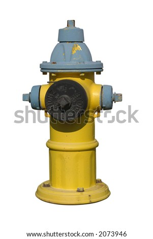 2-colored hydrant