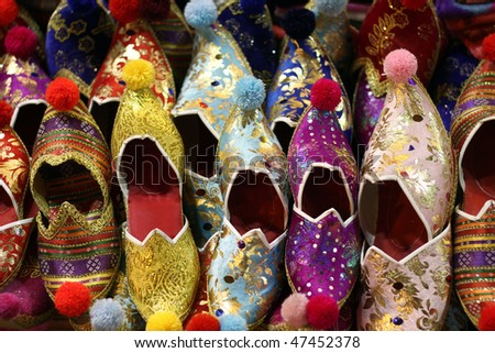 Colorful Turkish Slippers