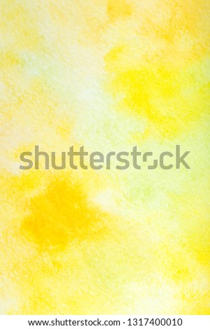 colorful watercolor background. hand painted by brush #1317400010