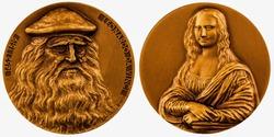 Commemorative coin Leonardo da Vinci