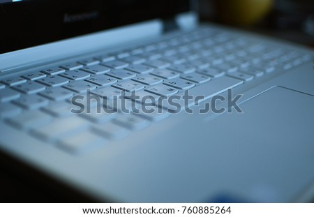 computer keyboard. Laptop Keyboard #760885264