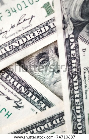 conceptual dollars photo