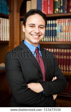 Confident lawyer portrait